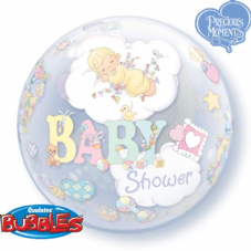 Precious Moments Baby Shower Bubble Balloon